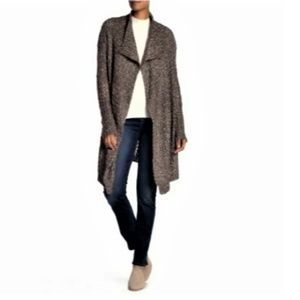 Solutions Waterfall Drape Collar Cardigan